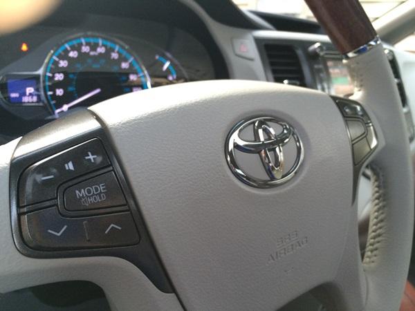 Toyota Sienna Steering Wheel Controls