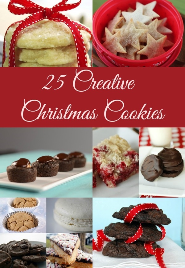 25 Creative Christmas Cookies