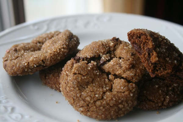 ... recipe visit: Recipe Shoebox – Chewy Chocolate Gingerbread Cookies