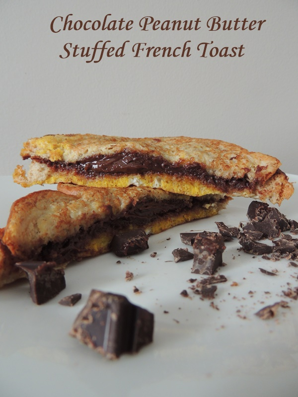 Peanut Butter Chocolate French Toast