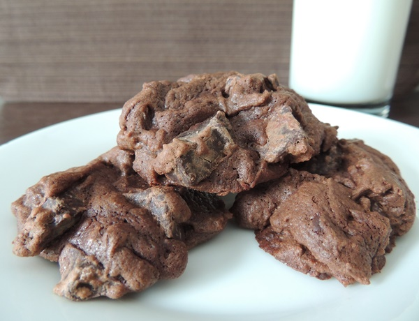 One Bowl Chocolate Bliss Cookies