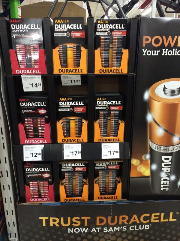 Sam's Club Batteries