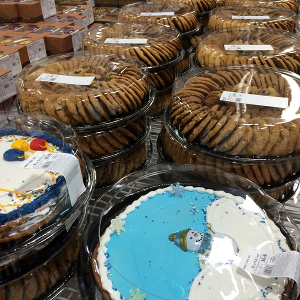 Sam's Club Holiday Cake Cookies