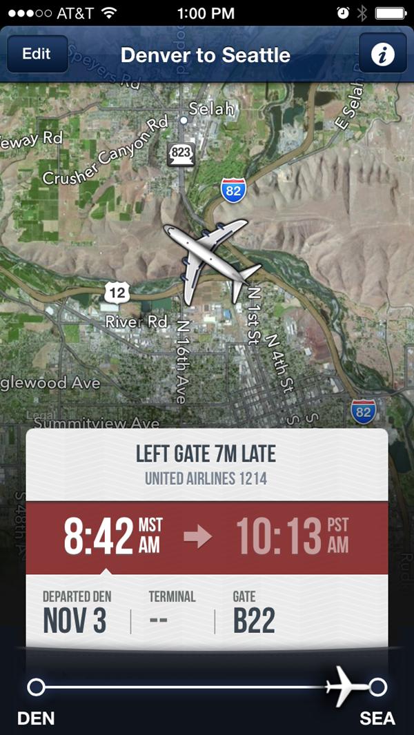 FlightTrack 5 Live Flight Tracking App