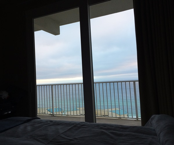 Laketown Wharf Resort View From Bed