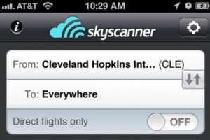 Sky Scanner App Featured