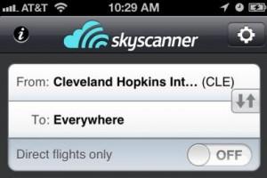 Sky Scanner App Featured