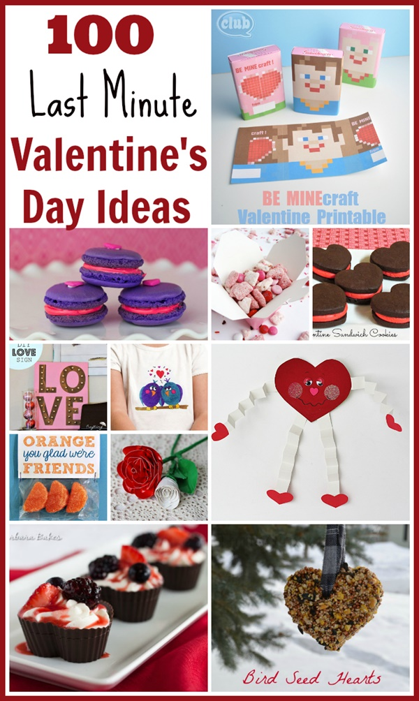 100 Last Minute Valentine's Day Ideas