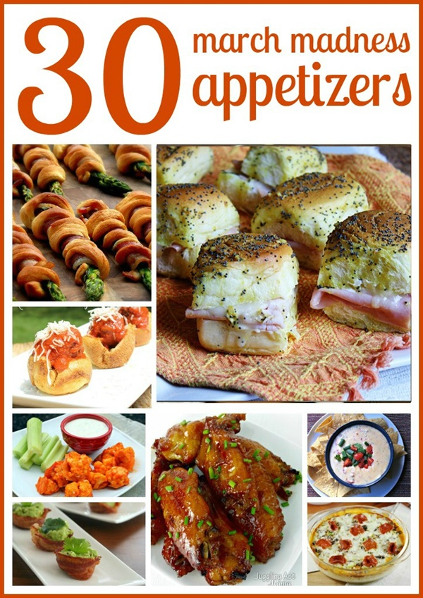 30 March Madness Appetizers