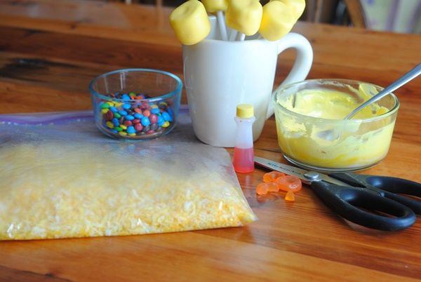 Cute Easter Chick Pops How To