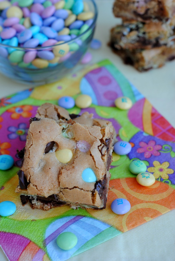 Easter Blondies Recipe
