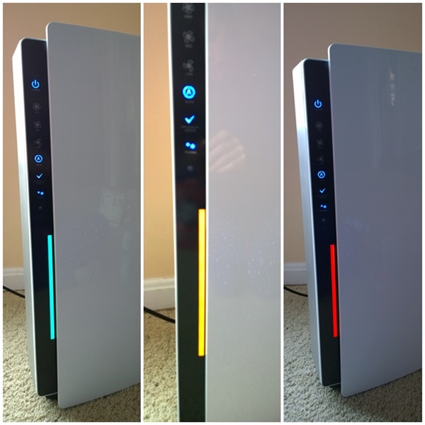 Friedrich Air Purifier LED Display Colors