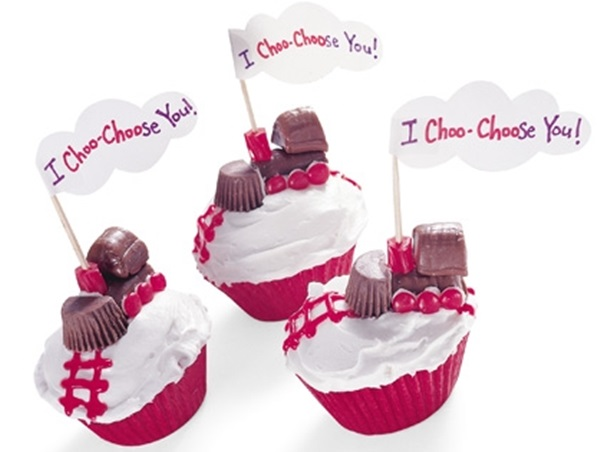 I Choo-Choose You Cupcakes