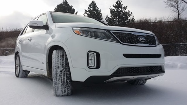 Kia Sorento Snow Featured