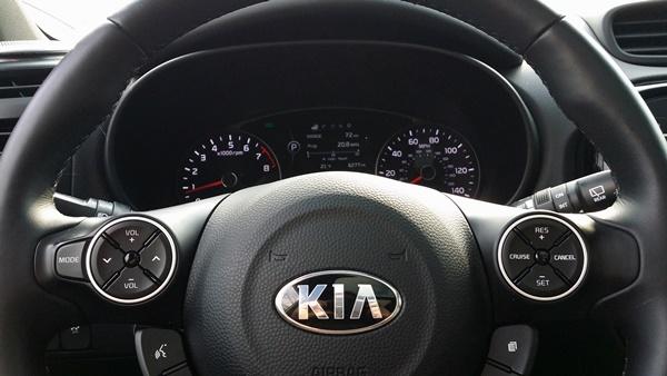 Kia Soul Dashboard