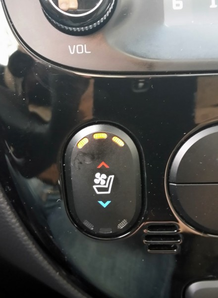 Kia Soul Heated and Cooling Seats
