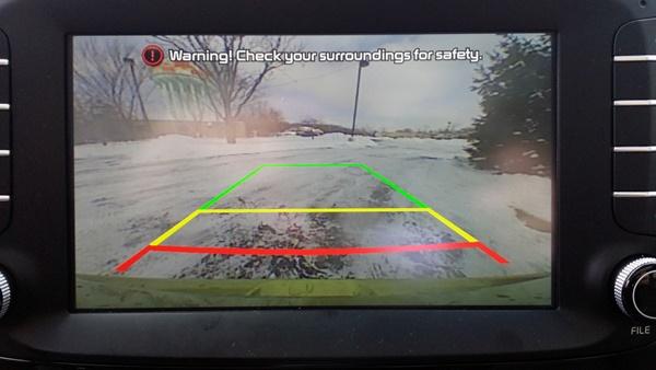Kia Soul Rearview Camera Cam