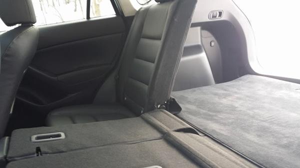 Mazda CX-5 Split Seat