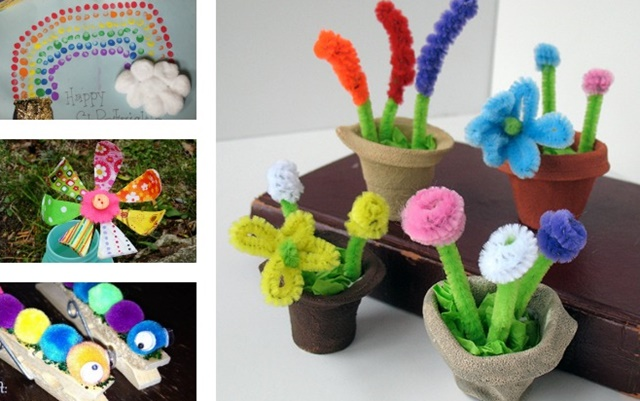 20 Cute Spring Craft Ideas For Kids