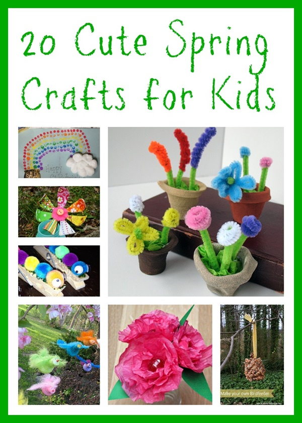Cute Spring Craft Ideas For Kids