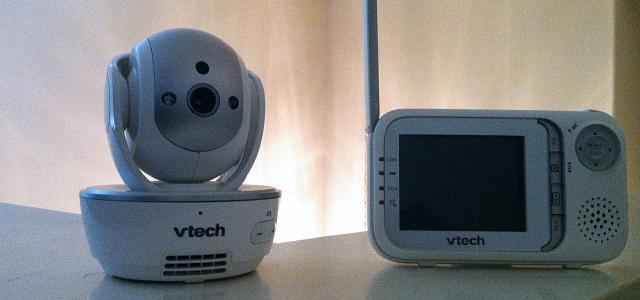 VTech Camera and Parent Unit Featured