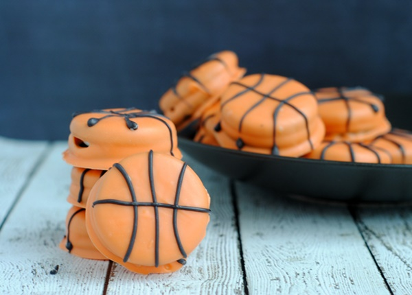 March Madness Slam Dunk Basketball Cookies Recipe