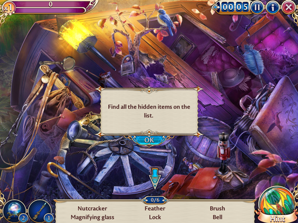 Midnight Castle Hidden Object Game