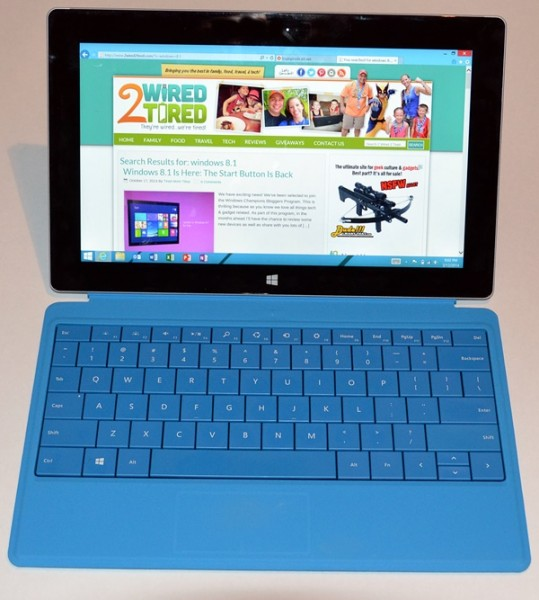 Surface 2 with Type Cover 2