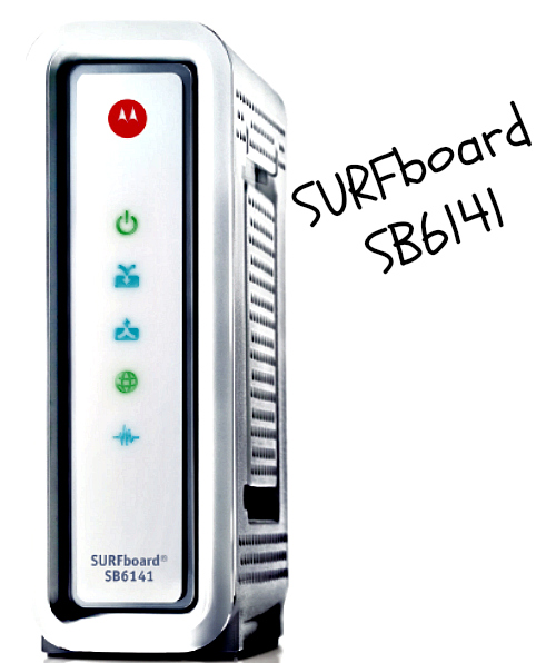 Motorola SB6141 Front
