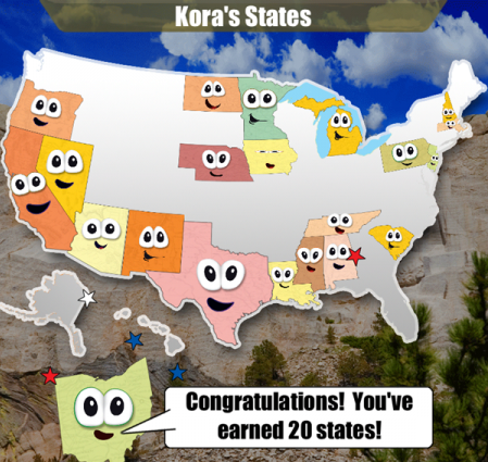 Stack The States: Geography App For Kids