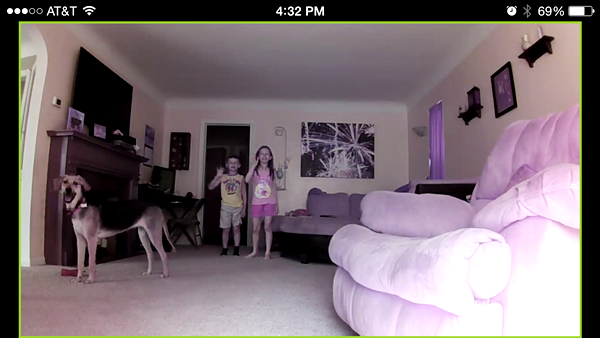 Little Link Video Baby Monitor Picture Clarity