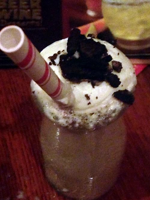 Outback Mini Milkshake! Yumm