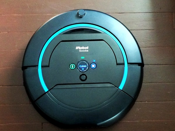 scooba 450 floor mopping robot review. Black Bedroom Furniture Sets. Home Design Ideas