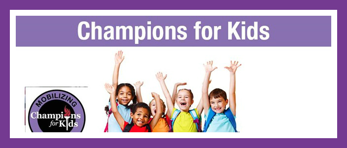 Champions for Kids Featured