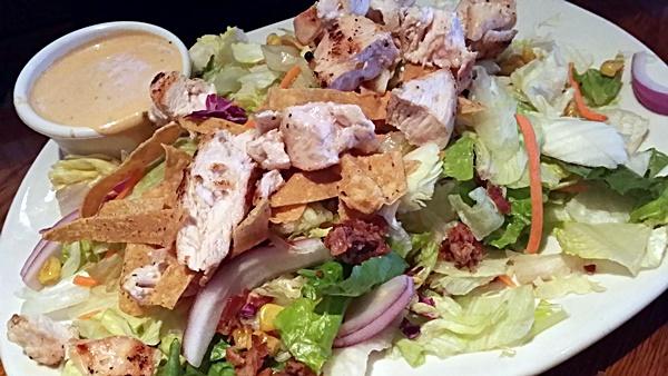 Outback Moonshine BBQ Chopped Salad