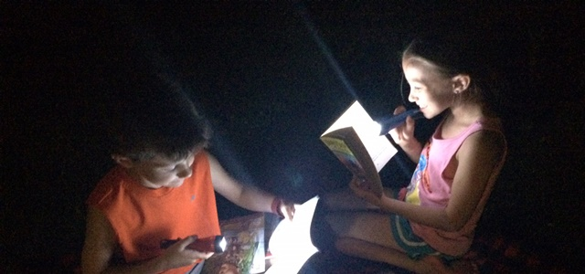 Scholastic Summer Reading Challenge: Reading Under The Stars