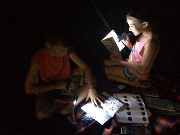 Scholastic Reading Under The Stars Night