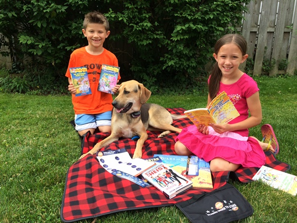 Scholastic Reading Under The Stars Picnic