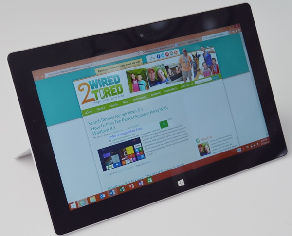 Surface Pro 2 Windows 8.1 Party Features