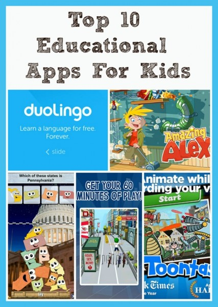 Top 10 Educational Apps For Kids