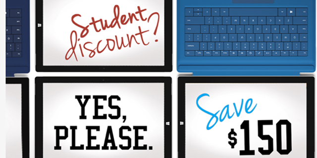 Save $150 On The Surface Pro 3 With Back To School Promotions