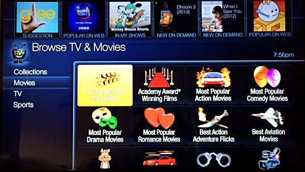 TiVo Collections Movies