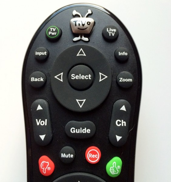TiVo Remote TiVo Button