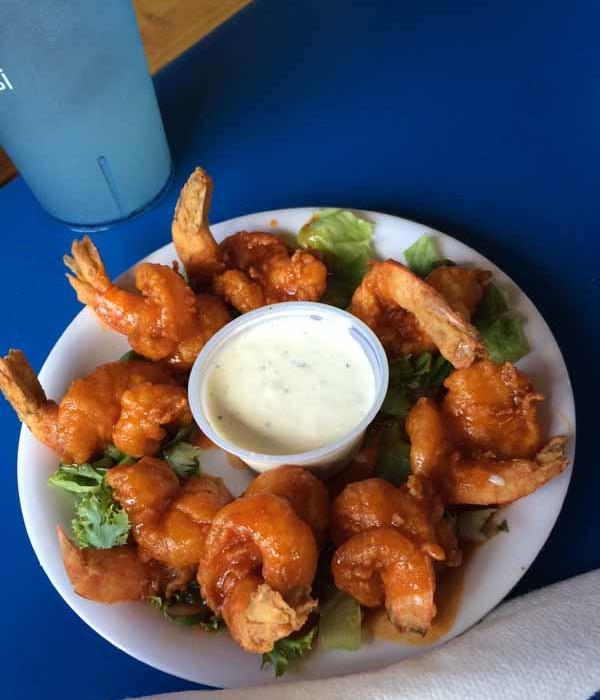 Gulf County Dockside Seafood Raw Bar Buffalo Shrimp