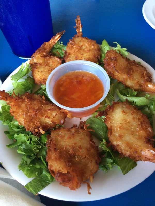 Gulf County Dockside Seafood Raw Bar Coconut Shrimp