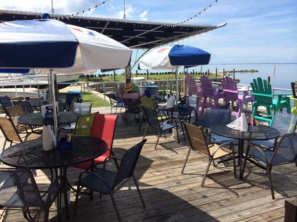 Gulf County Dockside Seafood Raw Bar Patio