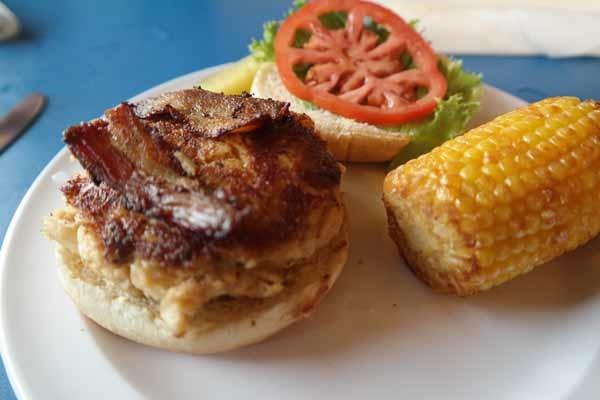 Gulf County Dockside Seafood Raw Bar Sandwich