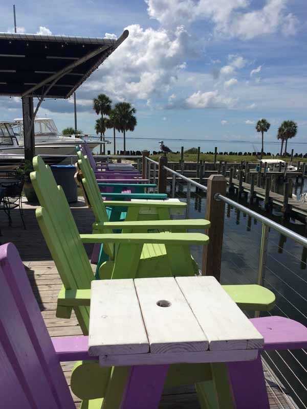 Gulf County Dockside Seafood Raw Bar View