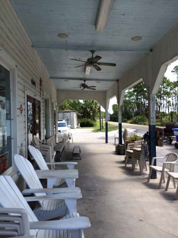 Gulf County Indian Pass Raw Bar Porch
