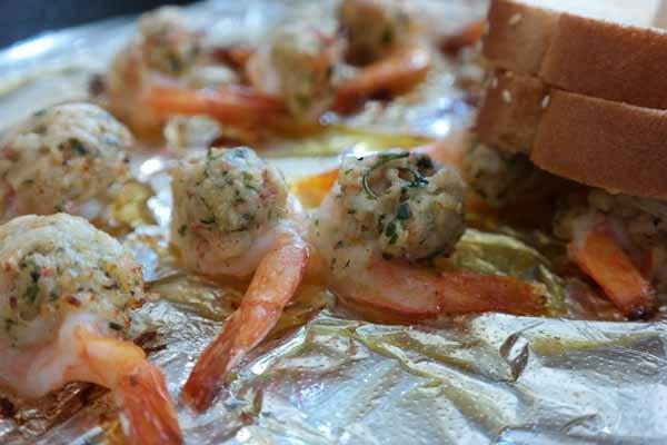 Gulf County Indian Pass Raw Bar Stuffed Shrimp